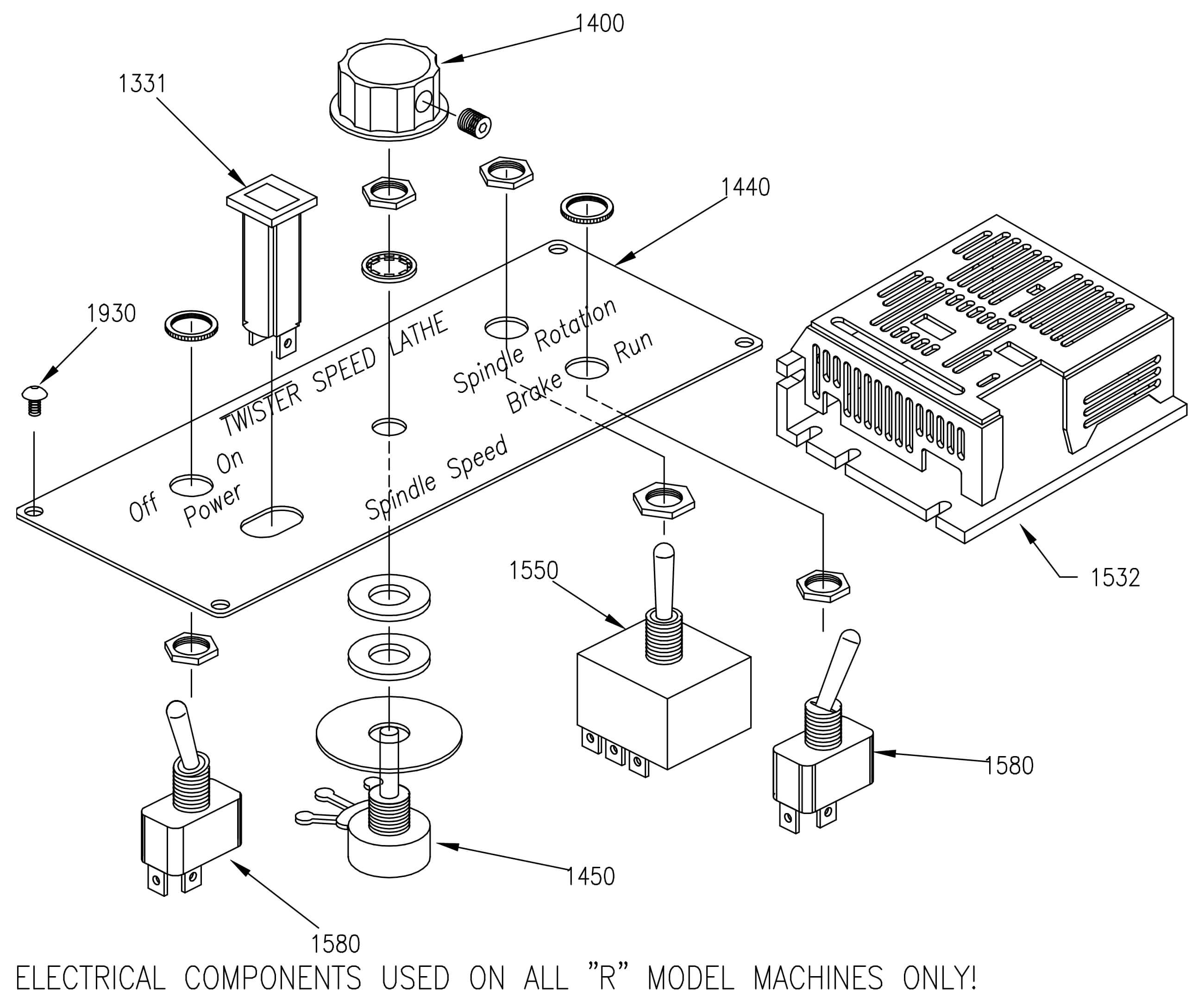 Electrical Components R Type'