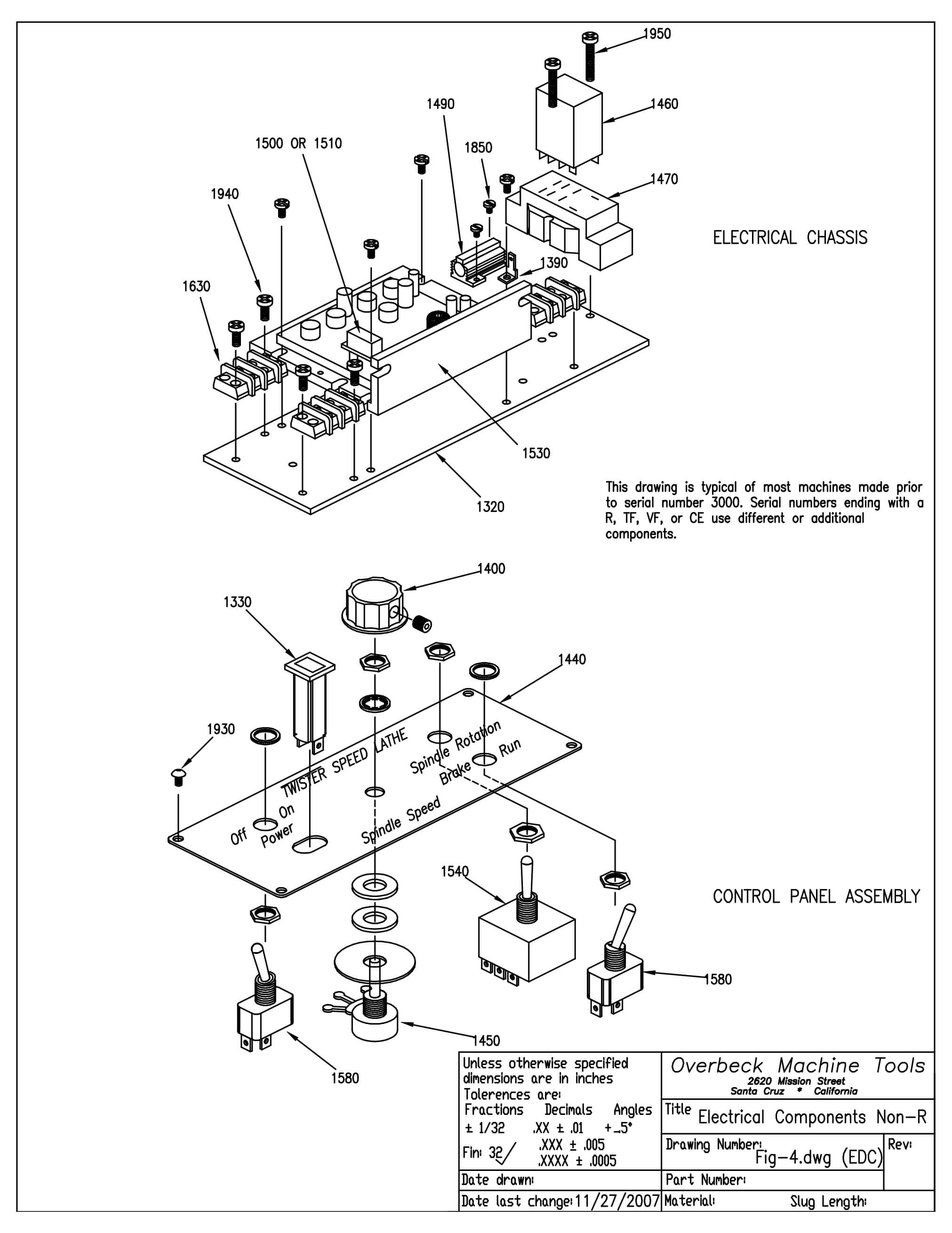 Electrical Components Non R Type'