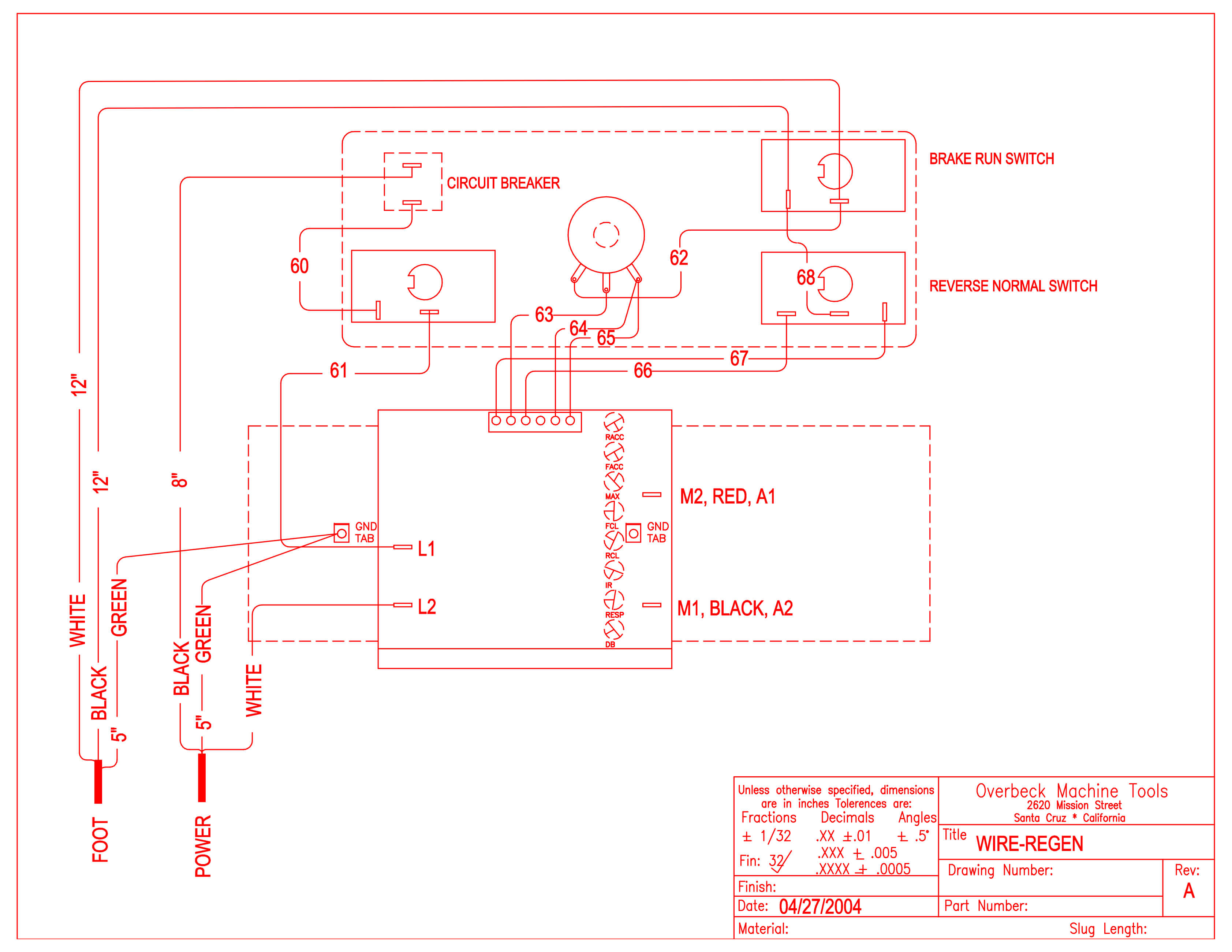 Wire Diagram R Mode'